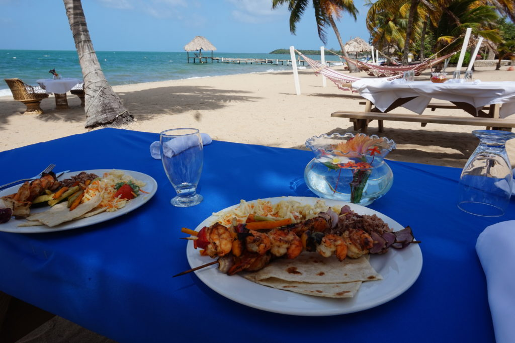 Food in Hopkins Belize