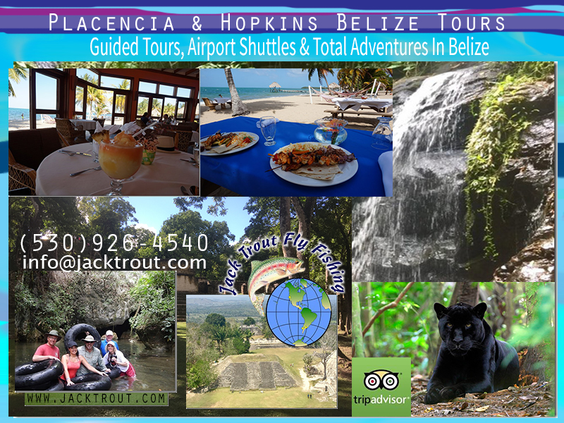 Tours Placencia & Hopkins Belize